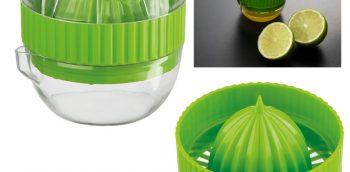 bedrukte citrus pers groen