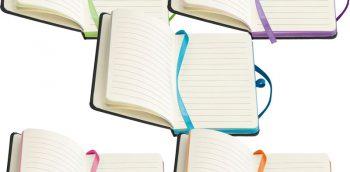 notitieboekjes, bedrukken, logo,