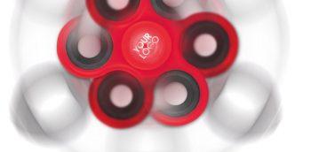 Spinners bedrukken, logo, relatiegeschenk, promotieartikel